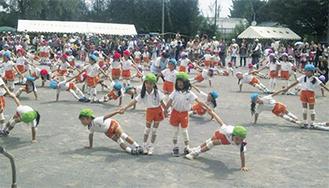 昨年開催時の子どもたちの演技
