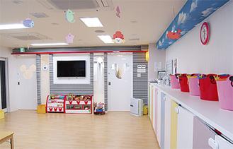 昨年10月に開設された病児保育室