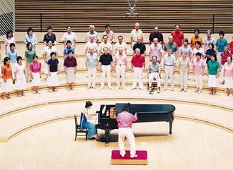 2005年の合唱祭の様子