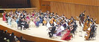 過去の演奏会。多くの来場者がオーケストラを楽しんだ