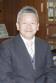 東高津中への想いを語る後藤恒昭校長