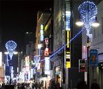 ポレポレ通りはブルーの灯り
