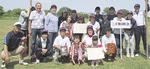 女子優勝のチームの二子第5町会