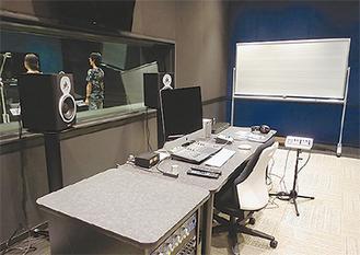 新設したアフレコスタジオ