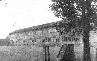 当時の高津小学校