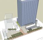 新庁舎の配置イメージ