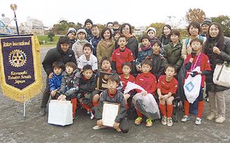 優勝した大豆戸FC
