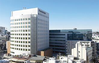 新病院の外観(同院提供)