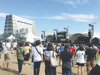 11年から開催されている野外フェス「BAY CAMP」