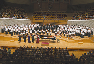 ミューザ川崎で行う定期演奏会