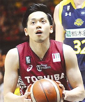 主将4季目の篠山竜青選手