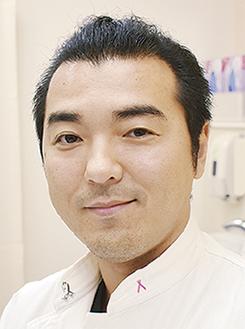 乳腺外科の嶋田恭輔医長