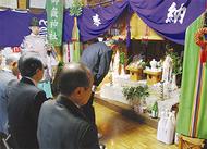 坂戸御嶽神社 初の新嘗祭(にいなめさい)