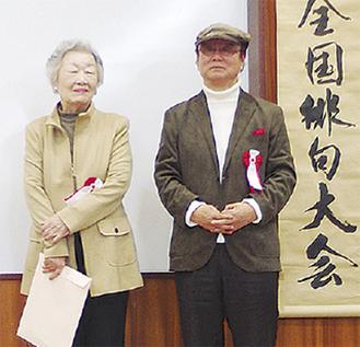 宇多さん(左)と石さん