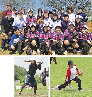 練習や親睦旅行などで仲の良さが自慢の女子チーム