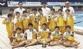 カワサキSCの水球チーム