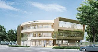 愛護センターの完成イメージ