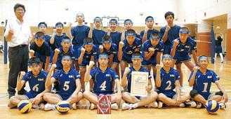 県総体に向け練習する選手たち