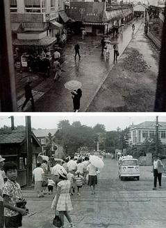 区制40周年記念で収集した昔の写真の一部
