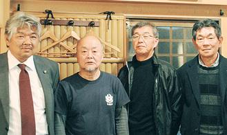 左から小黒さん、吉田さん、森さん、山上さん