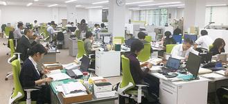「オフィス改革」の概念が取り入れられたのは県の出先機関としては初めて