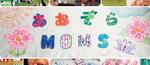 「あおぞらMOMS」と描かれた布看板