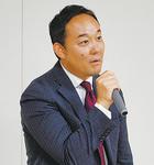 講演する元沢社長