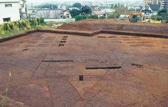 史跡に含まれる橘樹群衙跡
