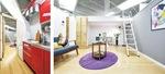 実物大のアパートを再現したショールームが体感できる空間
