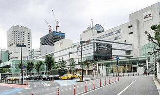 川崎市内で最高価となった川崎駅東口広場通り界隈