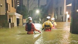 市内で浸水被害があった東日本台風では逃げ遅れにより救助された人もいた