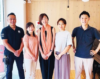 スタジオカリヨンの開所に関わるメンバー