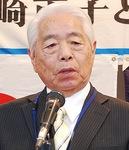 新井連盟長=2020年1月