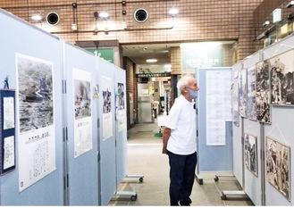 様々なパネル展示などが行われる(写真は過去、高津区役所での様子)