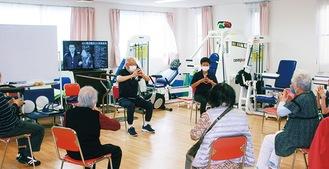 リハビリ等にも役立つ健康体操は人気アクティビティの一つ