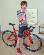 自転車競技で全国制覇