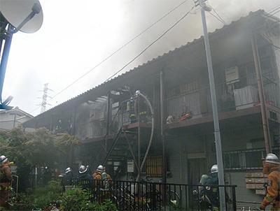 区内の火災、昨年比で大幅増