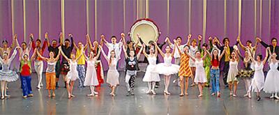 バレエで復興支援