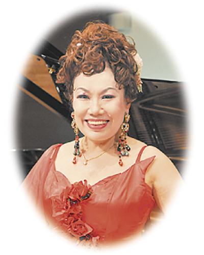 「七色の歌声」古渡智江さん虹色コンサート