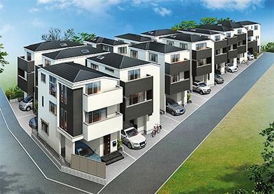 溝の口に夢のマイホーム新築分譲住宅が3000万円台から
