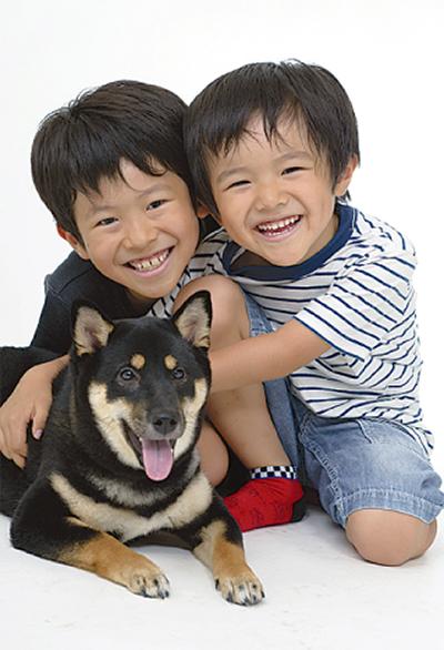 「愛犬とベストショットを」