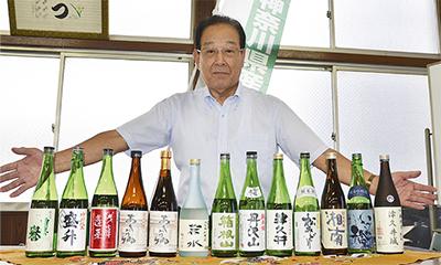 県内産の希少酒販売