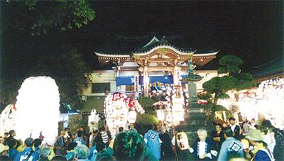 宗隆寺でお会式