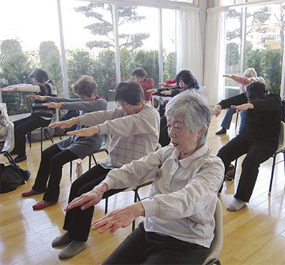 「貯筋運動」で健康寿命UP