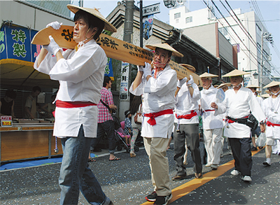 27日に高津区民祭