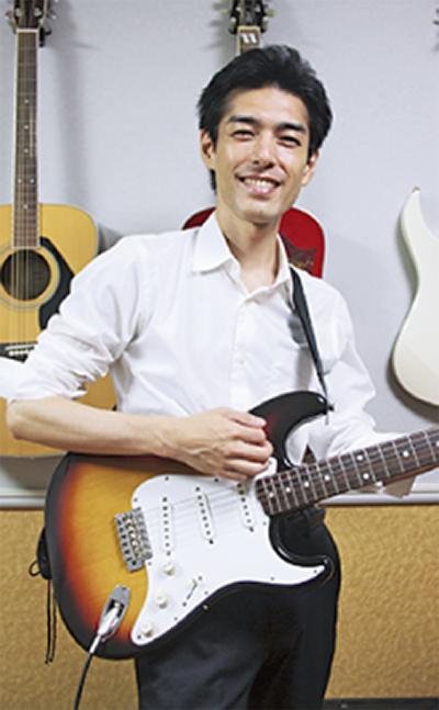中高年のエレキギター教室
