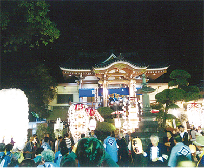 宗隆寺で御會式
