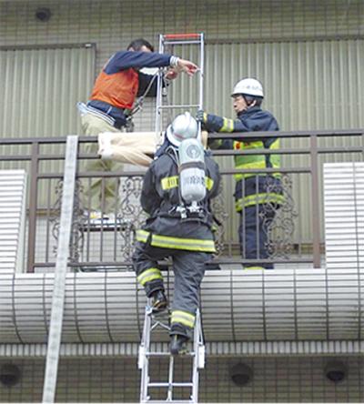 合同防火訓練に260人