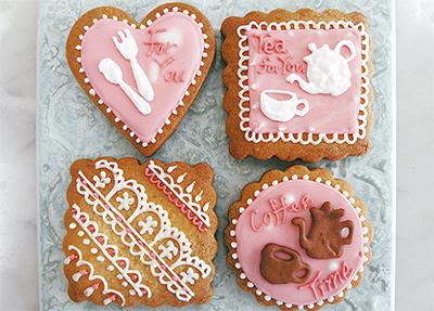 自由に描くお絵かきクッキー