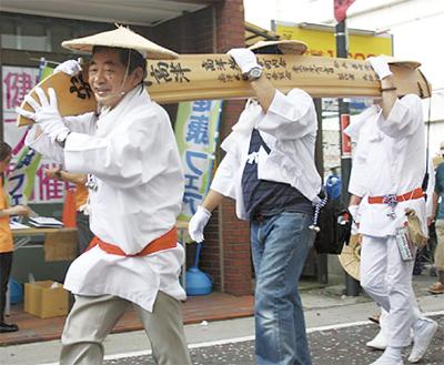 今年の区民祭は7月26日